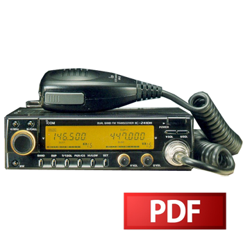 ICOM IC-2410H Service Manual – HamFiles