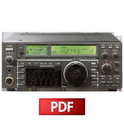 Icom IC-735 Service Manual – HamFiles