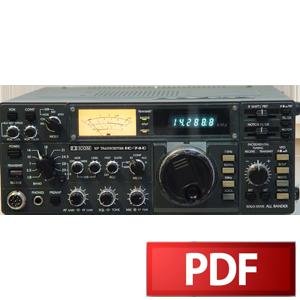 ICOM IC-740 Service Manual – HamFiles
